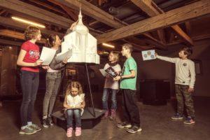 Model Zelené hory - Muzeum nové generace