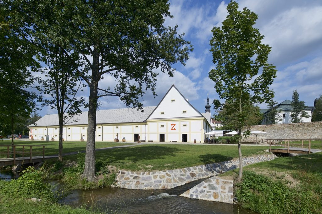 Muzeum nové generace - terasa