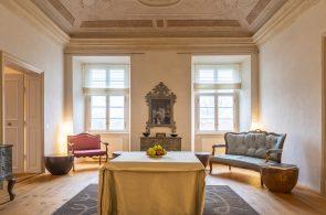 Nové barokní sály - zámek Žďár