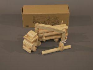 Obchod Zámek Žďár Dřevěný nakladač
