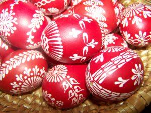 Velikonoce - Zámek Žďár nad Sázavou - Zdobení vajíček