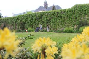 Zámek Ždár nad Sázavou - Velikonoce - Zahrada