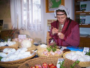 Zámek Žďár nad Sázavou - Velikonoce - Zdobení vajíček - Jaklová