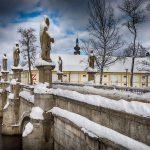 Barokní most Zámek Žďár zima