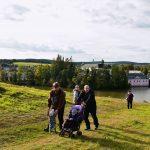 Rodinná procházka na Zelenou horu s výhledem na zámek