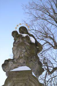 Mariánský sloup Zámek Žďár