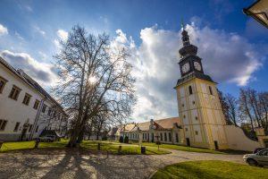 Zámecké ubytování Barokní věž - Zámek Žďár