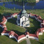 Poutní kostel sv. Jana Nepomuckého na Zelené hoře (UNESCO)