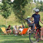 Cyklista pod Zelenou horou