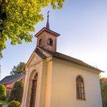 Vesnická památková rezervace Krátká - kaple sv. Cyrila a Metoděje