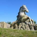 Michal Olšiak - socha koňského spřežení