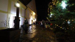 Vánoční trh 2019 - rozsvícení vánočního stromu