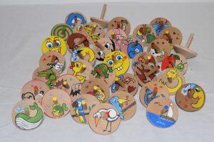Virtuální vánoční trh Zámek Žďár - Dřevěné hračky