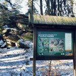 Zkamenělý zámek - tip na zimní výlet v okolí zámku Žďár