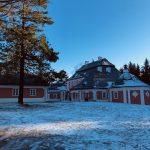 Zámeček Karlštejn - tip na zimní výlet v okolí Zámku Žďár