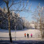 Zámek Žďár -zimní výlety, běžky
