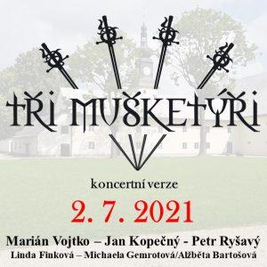 Tři mušketýři Žďár 2. 7. 2021