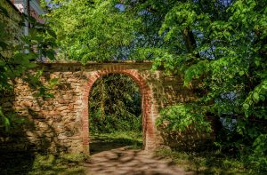 Soukromá zahrada rodiny Kinských - Zámek Žďár