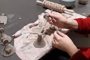 Chytrá ruka Zámek Žďár - keramika