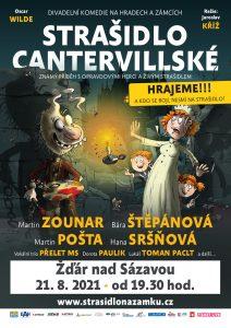 Strašidlo Cantervillské - Zámek Žďár