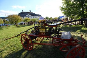 Historická koněspřežná stříkačka - Den venkova