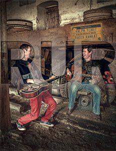 Hudební večer na terase - Ralph Schut a Radek Vaňkát